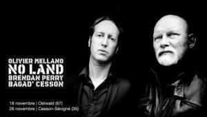 No Land O. Mellano, Brendan Perry et le Bagad Cesson en concert