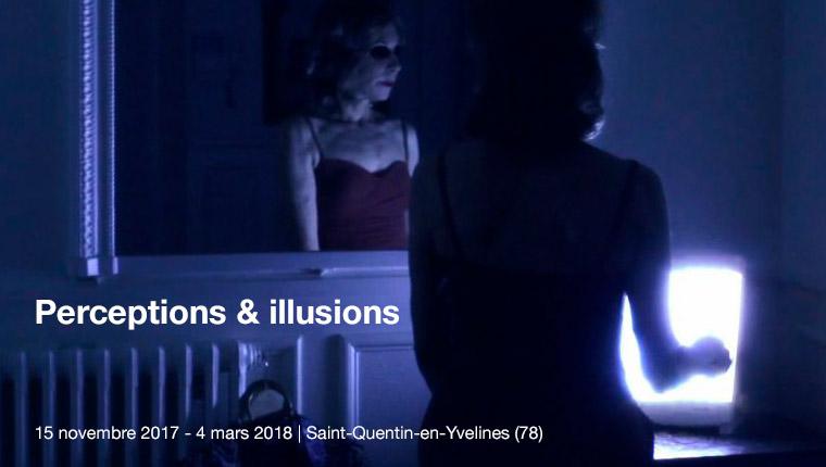 Expo à St Quentin-en-Yvelines Perceptions et Illusions