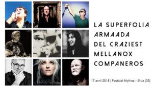 17 avril Superfolia Armaada - Festival Mythos Rennes