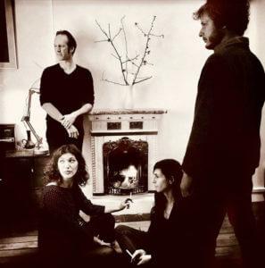 BAUM : Olivier Mellano, Maëva Le Berre, Anne Gouverneur, Simon Dalmais (photo Richard Dumas)