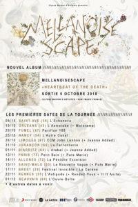 MellaNoiseScape 2018 - sortie album et dates concert