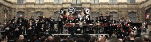 No Land (Brendan Perry - Olivier Mellano - Bagad Cesson) en concert à Rennes - crédit photo 73notes