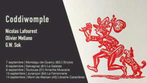Coddiwomple (N. Lafourest, O. Mellano, G.W.Sok) en concert