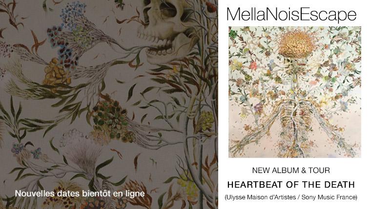 MellaNoisEscape - Heartbeat of the Death (painting Haruko Maeda)