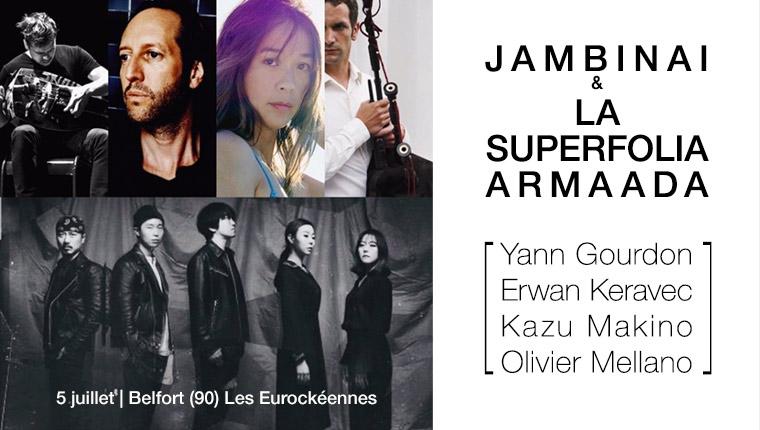 Jambinai et la Superfolia Armaada aux Eurockéennes le 5 juillet