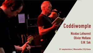 Coddiwomple en concert à Marseille