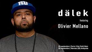 dälek featuring Oliver Mellano - Paris le 25 et Rennes le 28 sept.