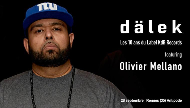 dälek featuring Oliver Mellano - Rennes 28 sept.