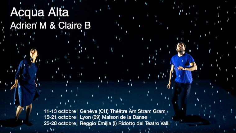 Acqua Alta en octobre à Genève, Lyon et Reggio Emilia - Adrien M & Claire B