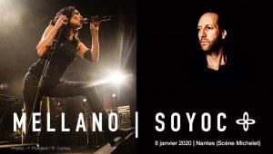 Oliver MELLANO Mona SOYOC - Nantes le 8 janvier