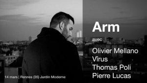 Arm et invités en concert à Rennes le 14 mars