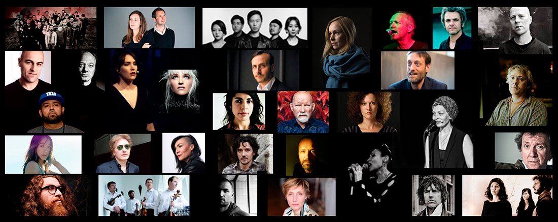 Olivier Mellano a collaboré avec + de 350 artistes (Brendan Perry, Laure Limongi, Mona Soyoc,