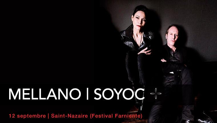 MELLANO SOYOC en concert à St Nazaire le 12 septembre (photo R. Dumas)