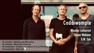Coddiwomple (O. Mellano - G.W. Sok - N. Lafourest) en concert