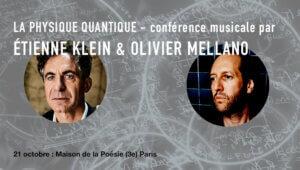 conférence musicale avec Etiene Klein et Olivier Mellano