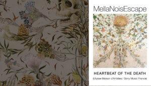 MellaNoisEscape - Heartbeat of the Death (album disponible le 5 octobre 2018 - painting Haruko Maeda)
