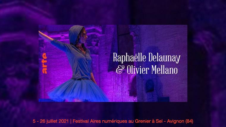 R. Delaunay - Festival Aires numériques Avignon